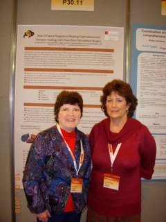 Kate and Valerie at World PD Congress-3
